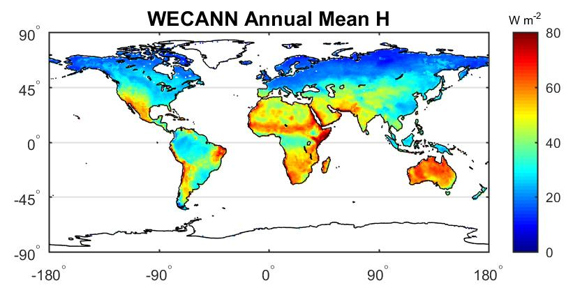 WECANN Annual Mean H image